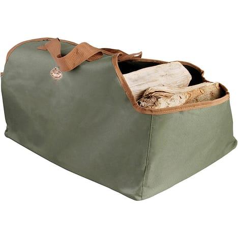 sac à buches design