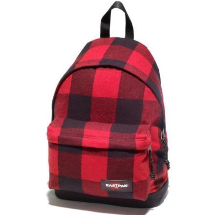 sac eastpak rouge et noir