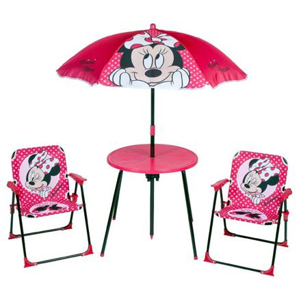 salon de jardin minnie