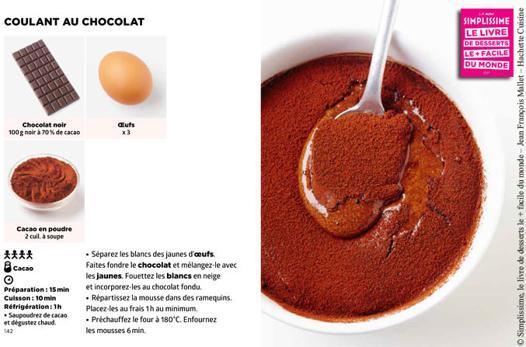 simplissime recette dessert