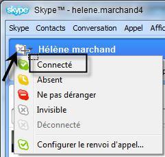 skype appel connexion en cours