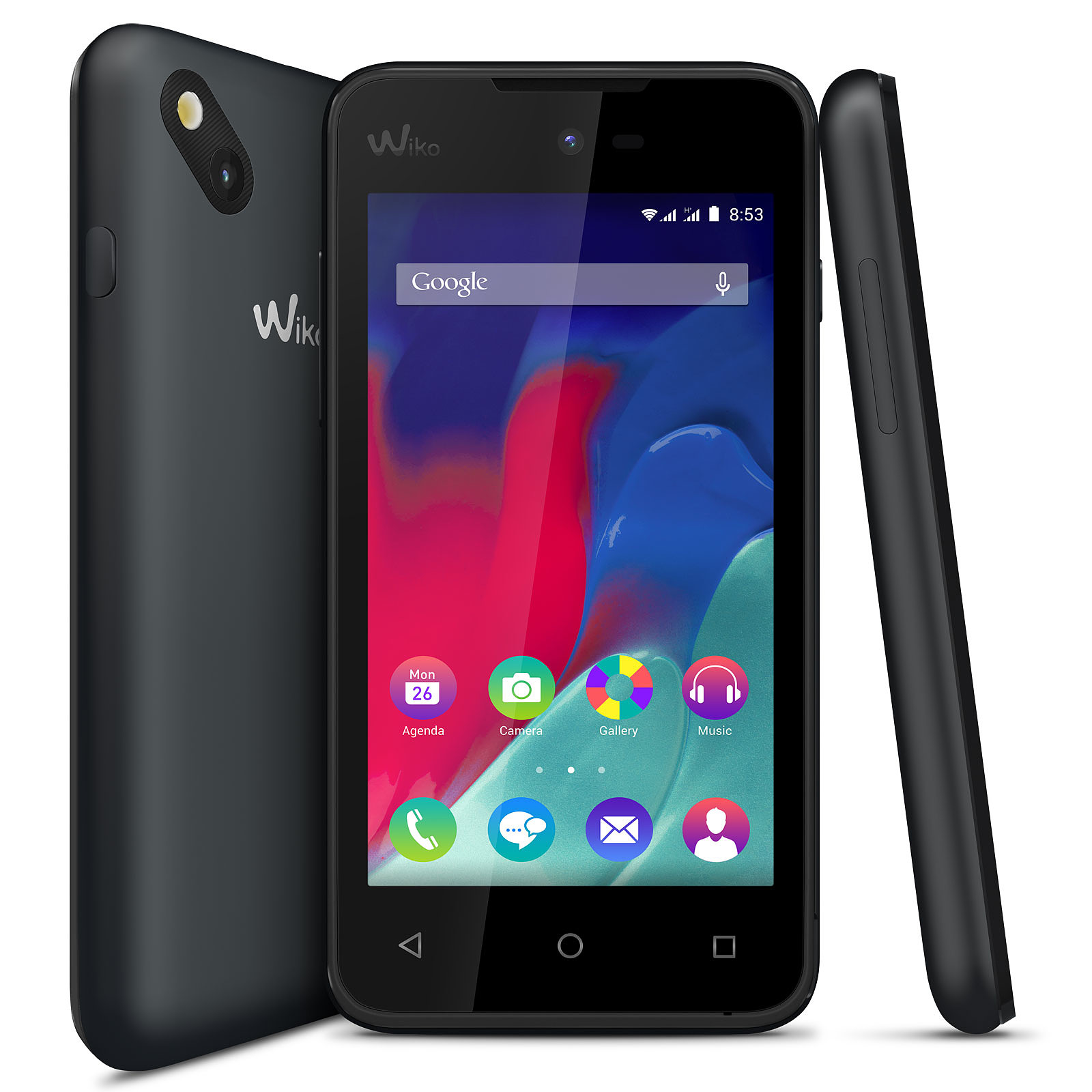 smartphone wiko sunset 2 noir