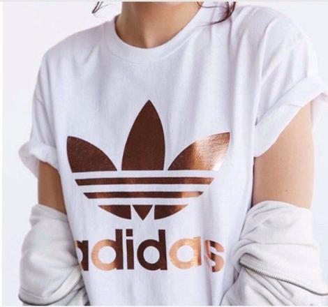 t-shirt adidas fille