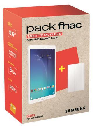 tablette samsung fnac