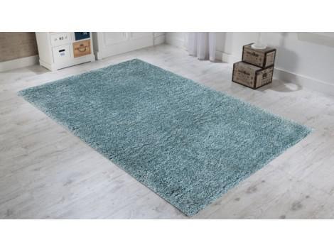 tapis bleu pastel
