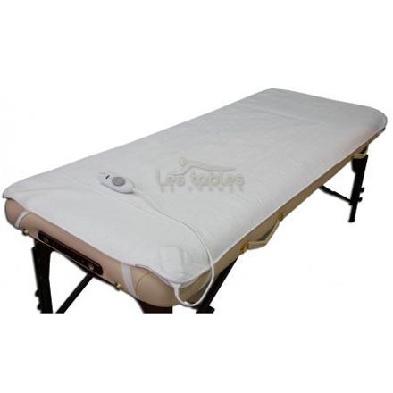 tapis chauffant pour table de massage