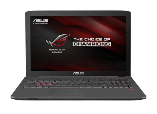 test asus rog gl752vw