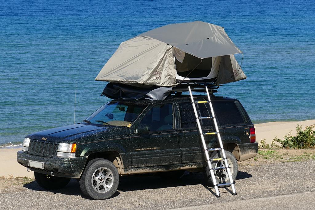 toit de tente
