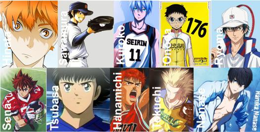 top anime sport