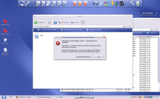 utilisation disque dur externe