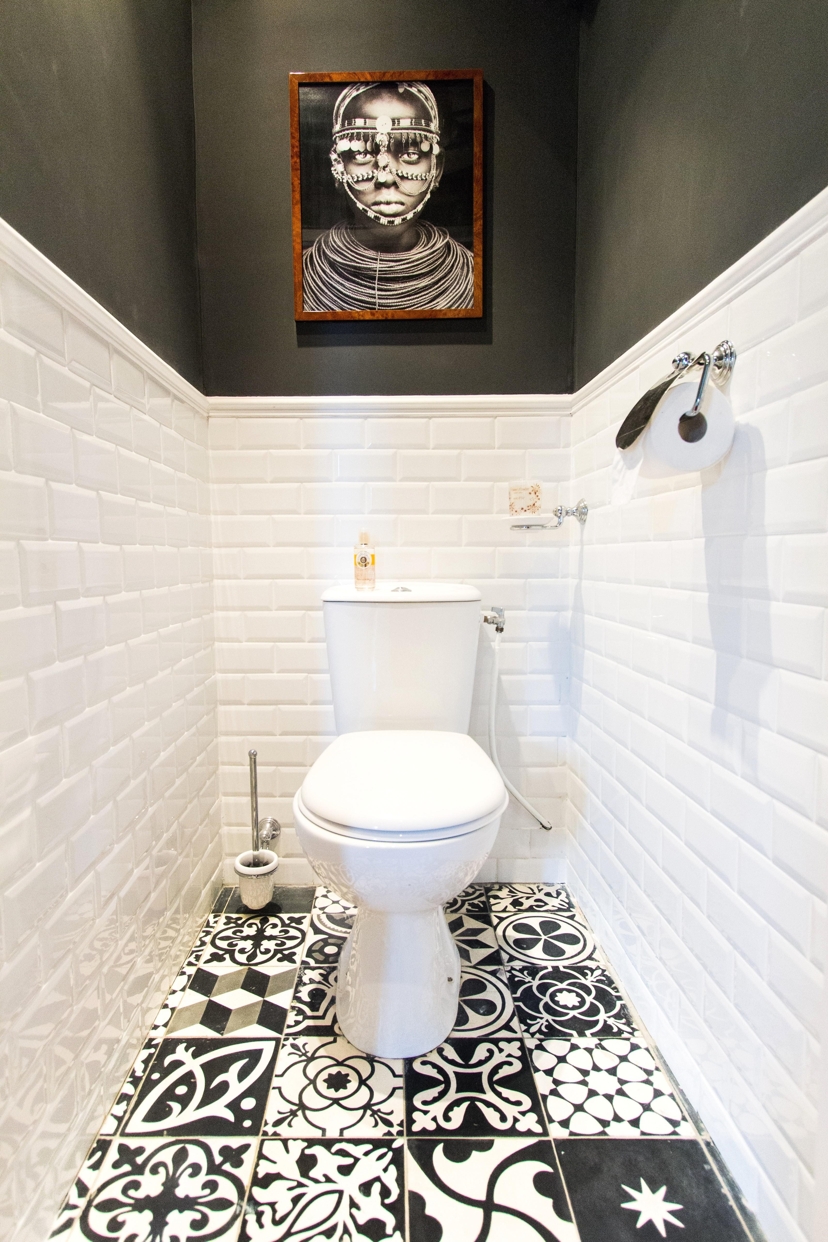 wc noir et blanc