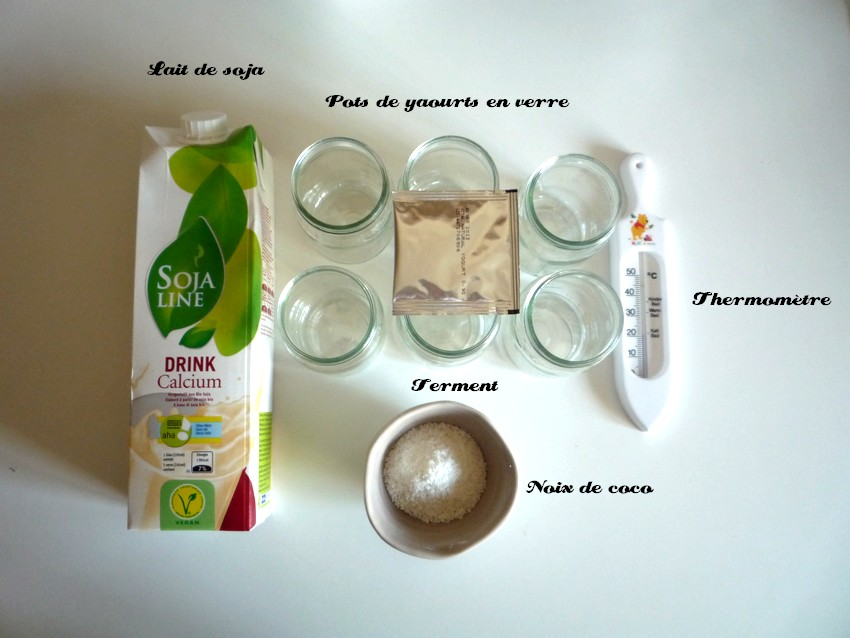 yaourt lait végétal